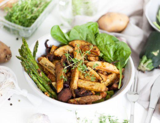 Healthy-Lunchbowl-Spinat-Kichererbsen-Kartoffel-Clean-Eating-Foodblogger-Austria-Giveherglitter-4