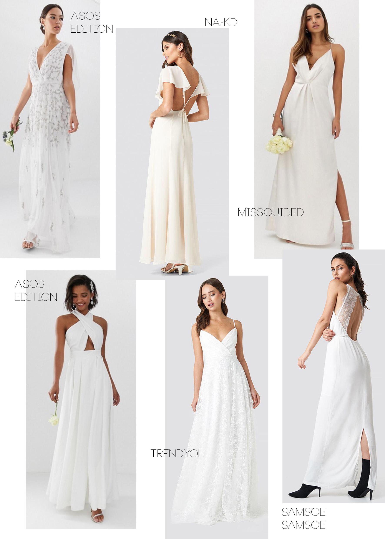 Wedding Dress On A Budget   Hochzeits Outfits von €20 bis €20 ...